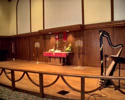 Church Wedding Ceremony Harpist