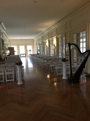 Harp Music for a Wedding at the Allerton Park Mansion