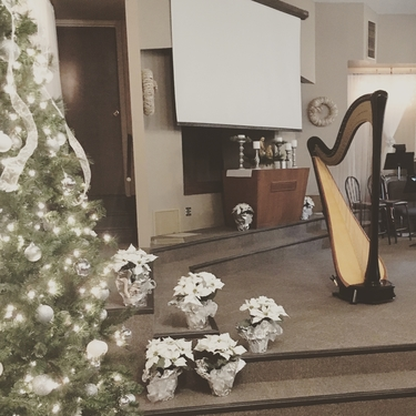 Christmas Eve Church Services 2020 Bloomington Normal Il Bloomington Normal Harpist   Weddings & Services at College Park